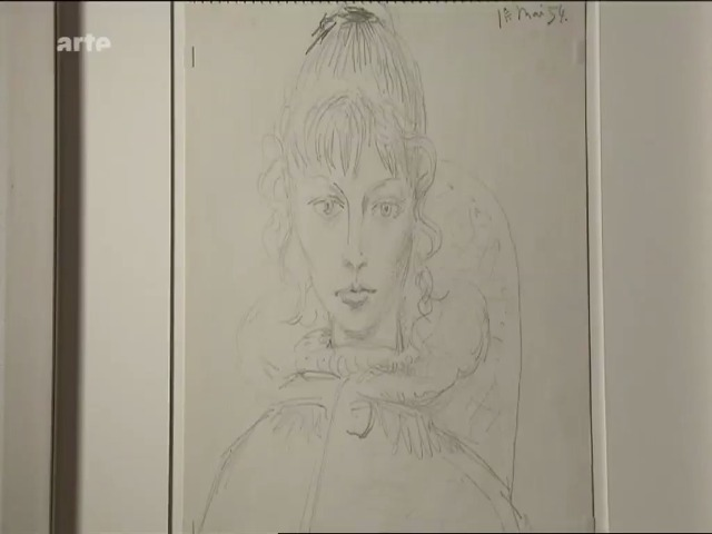 """Vidéo Voice-Over 1 """"Sylvette, un modèle de Picasso"""""""