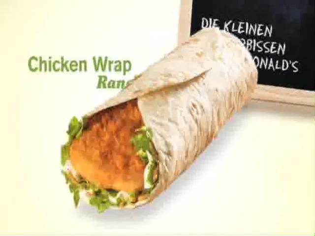Vidéo McDo - Wrap Ranch