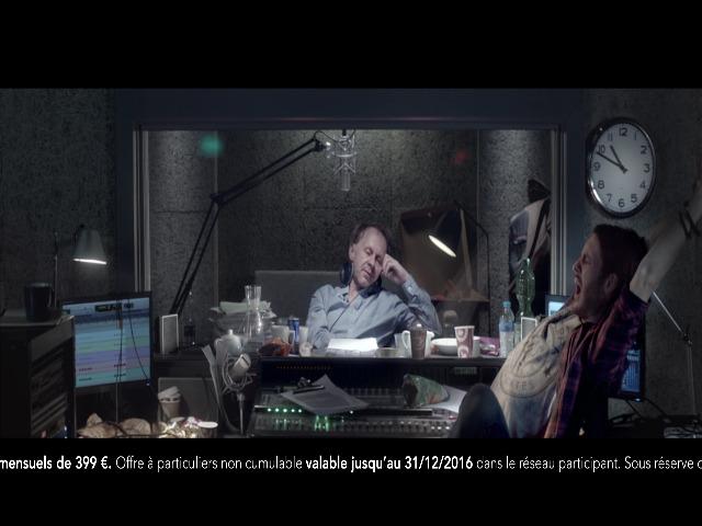 Vidéo Publicité Land Rover . Voix