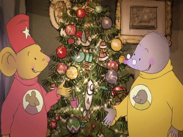 Vidéo Les souris de Noël (Toutes les voix sauf les hommes)