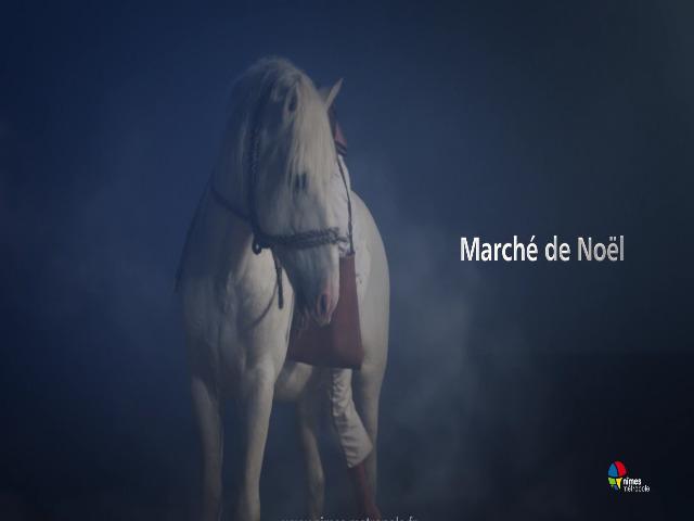 Vidéo Crin Blanc de Noel Nimes